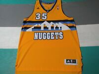 Denver Nuggets Kenneth Faried Adidas Swingman Jersey Adult Large +2 Yellow