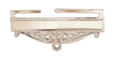 Masonic Freemasonry Nickel-Plated Jewel Ribbon Bottom Bar