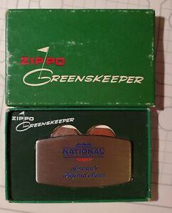 Zippo Greenskeeper - National Van Lines