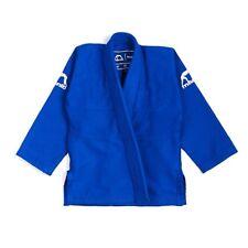 Manto Kids BJJ Gi Junior Youth Kimono Blue Uniform - Free White Belt