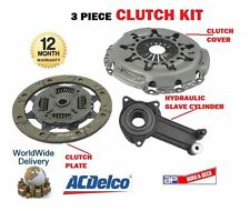 FOR FORD FIESTA 1.8D 1995-2000 3 PIECE CLUTCH KIT WITH CONCENTRIC SLAVE BEARING