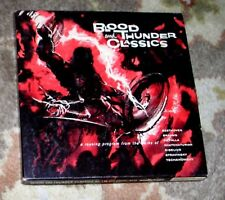 """Excellent HALLOWEEN 7 1/2 IPS Reel to Reel Tape - """"Blood and Thunder Classics"""""""