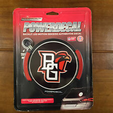 BGSU PowerDecal Backlit LED Motion Sensing Car Auto Decal Bowling Green State