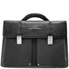 Piquadro Link Black Organized briefcase with two gussets CA1044LK/N