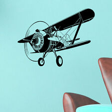 wall stickers custom colour air plane large kids baby vinyl decal decor Nursery