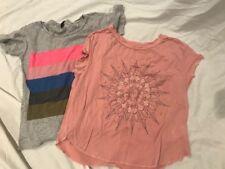 Lot of 2 Womens Juniors Short Sleeve T-Shirts, XS-S, J.CREW, AEO SOFT & SEXY F/S