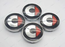 60mm 4Pcs Car modification Parts Wheel Center Caps Hub Cover Emblem for Smart
