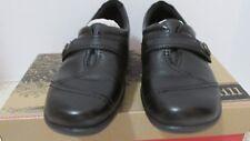 Cobb Hill Pamela Black Leather Slip on Comfort Loafer Shoe 6 Wide EUC