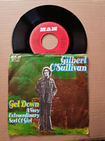 "Gilbert O'Sullivan Get Down Vinyl,7"",45 RPM,Single 1973-Sammlung Rock"