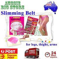 Leg Thigh Arm Anti Cellulite Burn Fat Slimming Belt Wrap Loss Weight Sauna Slim