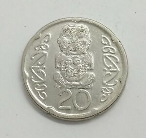 New Zealand 2006 20 Cents KM# 118a