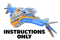 Instructions Only for Custom LEGO Milano Model PDF