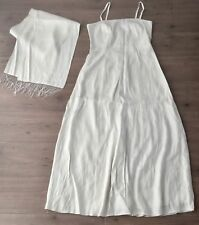 Ladies Occasion Wedding Dress Size 14 Debut Debenhams With Shawl/ Wrap Ivory