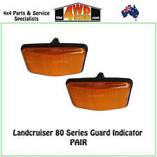 INDICATOR GUARD REPEATER BLINKER LIGHTS fits TOYOTA LANDCRUISER 80 SERIES PAIR