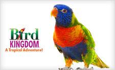 Bird Kingdom in Niagara Falls - 4 Admission Passes to see Exotic Birds, Reptiles