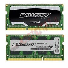CRUCIAL BALLISTIX DDR3 4 GO 1866MHZ RAM SODIMM ORDINATEUR PORTABLE PC3 PC