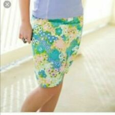 Matilda Jane Sz S Hammond Bay Gingersnap Floral Blue Skirt Women's NWTSmall