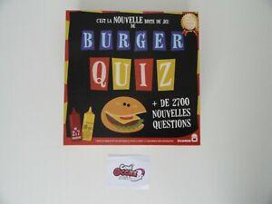 Burger Quiz - Dujardin - avec burgers