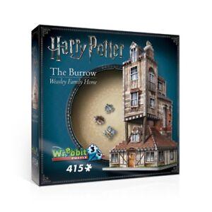 Wrebbit Harry Potter The Burrow 415 Piece 3D Puzzle NEW