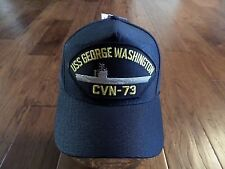 USS GEORGE WASHINGTON CVN-73 NAVY SHIP HAT U.S MILITARY OFFICIAL BALL CAP U.S.A