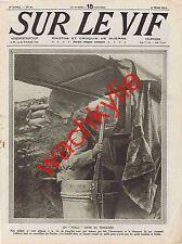 Sur le vif n°20 du 27/03/1915 Brebières Soissons Furnes escadres Dardanelles