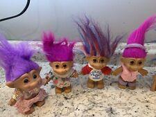 Troll Collection, Lot , RUSS, Burger King, Russ Troll For President -37 Trolls-
