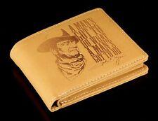 Monedero Hombres Cowboy - JOHN WAYNE - Cartera monedero Película Oeste monedero