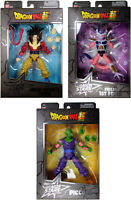 Dragon Stars Series 9 Action Figure Set ~ Frieza First Form, Piccolo, SS4 Goku