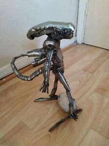Scrap Steel Art  Alien