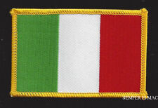 Italy Country Hat Vest Flag Patch Souvenir Trip Gift Pin Up Europe Italian Wow