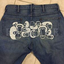 A Bathing Ape Extreme Rare Baby Milo Washed Jeans