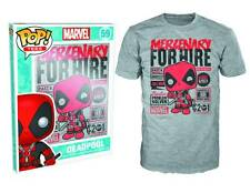 POP Tees - Marvel - Deadpool for Hire Shirt