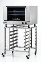 Moffat E27M2/SK2731U Electric Convection Oven Full Size 2 Pan w/ Mobile Stand