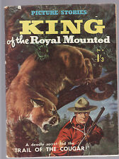KING OF THE ( CANADIAN ) ROYAL MOUNTAIN POLICE :  PICTURE STORIES comic format