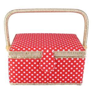 Thread Needle Storage Box Sewing Storage Box Craft Sewing Basket for Women Girls