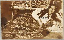 Real Photo Postcard Maori NEW ZEALAND LADY Beauty Antique RP 1913