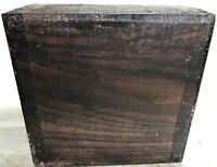 East Indian Rosewood Lumber 6x6x3 Woodturning Bowl Blank Knife Handles Pool Cues