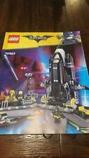 The LEGO Batman Movie - The Bat-Space Shuttle (70923) - Manual Only