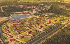 Coral Gables Florida aerial view University of Miami antique pc Z19645