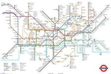 TFL Tube London Underground Map Maxi Poster 61x91.5cm PP30693