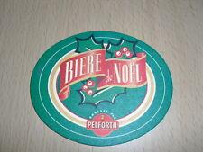 "SOUS-BOCK Pelforth ""bière de noël"""