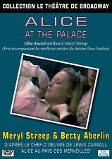 DVD Le théâtre de Broadway : Alice At The Palace (Meryl Streep)