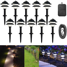 Outdoor Path Way Lighting Low Voltage Exterior Landscape Walk Garden Light  Set