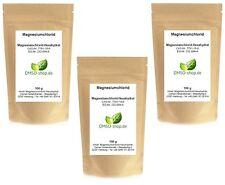 3 x 100 g Magnesiumchlorid-Hexahydrat Pulver, min. 99%, Ph. Eur., im Clip-Beutel