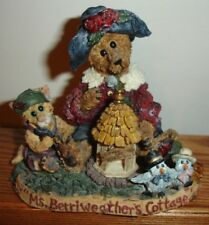 Boyds Bears Fob 1998 Ms Berriweather's Cottage Private Issue