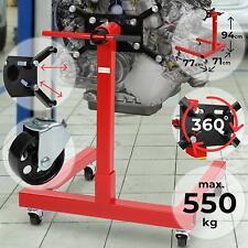 Caballete Soporte Motor apoyo Grúa Transmisión Universal Rojo MAX 550Kg