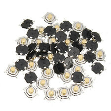 50pcs 4x4x2.5mm Waterproof Copper Button SMD Tactile Tact Micro Push Switch 4 Pi