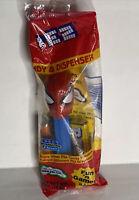 Big Head Spiderman Pez Dispenser Blue Stem  w/Feet New Super Hero Pez