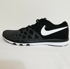 Nike Train Speed 4 Black/White Running Shoes size 10.5 M 12218-1 rack