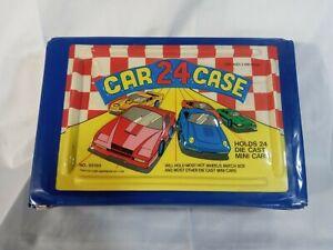 Vintage Tara Toy Corp 24 Car Case No. 20150 Hot Wheels Matchbox Die Cast Holder